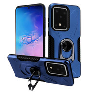 Multifunctional Hybrid Case with 360° Bottle Opener Rotating Ring Holder Kickstand for Samsung Galaxy S20 Ultra - Navy