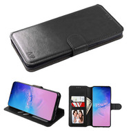 Element Series Book-Style Leather Folio Case for Samsung Galaxy S20 Ultra - Black