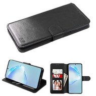 Element Series Book-Style Leather Folio Case for Samsung Galaxy S20 Plus - Black