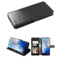 Element Series Book-Style Leather Folio Case for Samsung Galaxy S20 - Black