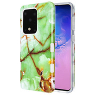 TUFF Subs Hybrid Armor Case for Samsung Galaxy S20 Ultra - Marble Green