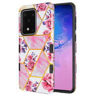 TUFF Subs Hybrid Armor Case for Samsung Galaxy S20 Ultra - Marble Roses