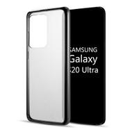 Tough Shield Snap-on Transparent Hybrid Case for Samsung Galaxy S20 Ultra - Black