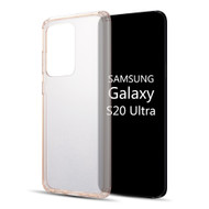 Tough Shield Snap-on Transparent Hybrid Case for Samsung Galaxy S20 Ultra - Rose Gold