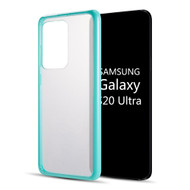 Tough Shield Snap-on Transparent Hybrid Case for Samsung Galaxy S20 Ultra - Baby Blue