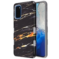 TUFF Subs Hybrid Armor Case for Samsung Galaxy S20 - Marble Black Gold