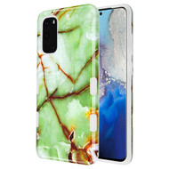 TUFF Subs Hybrid Armor Case for Samsung Galaxy S20 - Marble Green