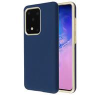 Fuse Slim Armor Hybrid Case for Samsung Galaxy S20 Ultra - Navy Blue Gold