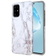 Fuse Slim Armor Hybrid Case for Samsung Galaxy S20 Plus - Marble White