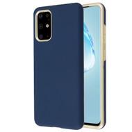 Fuse Slim Armor Hybrid Case for Samsung Galaxy S20 Plus - Navy Blue Gold