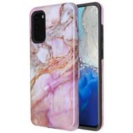 Fuse Slim Armor Hybrid Case for Samsung Galaxy S20 - Marble Purple