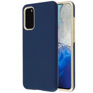 Fuse Slim Armor Hybrid Case for Samsung Galaxy S20 - Navy Blue Gold