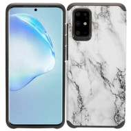 Hybrid Multi-Layer Armor Case for Samsung Galaxy S20 Plus - Marble White