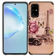 Hybrid Multi-Layer Armor Case for Samsung Galaxy S20 Plus - Eiffel Tower