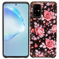 Hybrid Multi-Layer Armor Case for Samsung Galaxy S20 Plus - Pink Roses