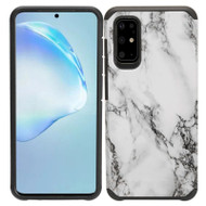 Hybrid Multi-Layer Armor Case for Samsung Galaxy S20 - Marble White