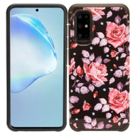Hybrid Multi-Layer Armor Case for Samsung Galaxy S20 - Pink Roses