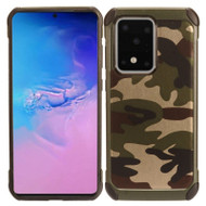 Tough Anti-Shock Hybrid Case for Samsung Galaxy S20 Ultra - Camouflage