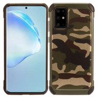 Tough Anti-Shock Hybrid Case for Samsung Galaxy S20 Plus - Camouflage