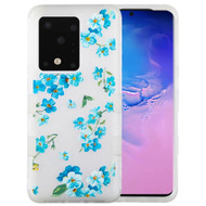 Military Grade Certified TUFF Hybrid Armor Case for Samsung Galaxy S20 Ultra - Frosted Aqua Myositis