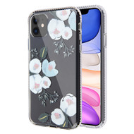 Fusion Shield Tough Snap-on Transparent Case for iPhone 11 - Floral