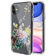 Fusion Shield Tough Snap-on Transparent Case for iPhone 11 - Chrysanthemum