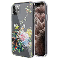 Fusion Shield Tough Snap-on Transparent Case for iPhone 11 Pro Max - Chrysanthemum
