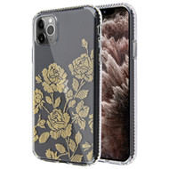 Fusion Shield Tough Snap-on Transparent Case for iPhone 11 Pro Max - Rose