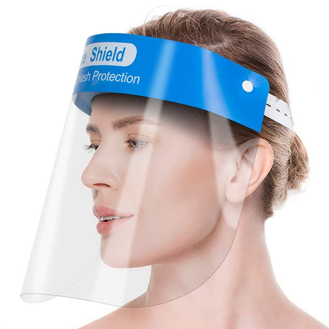 Face Shield Protective Isolation Mask With Adjustable Elastic Band
