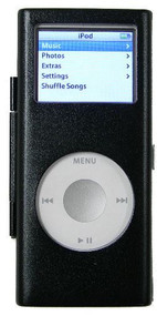 Aluminum Armor Shield Case for 2nd Generation iPod Nano - Black