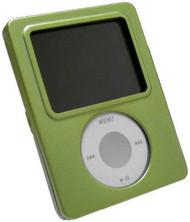 Aluminum Armor Shield Case for 3rd Generation iPod Nano (Green)