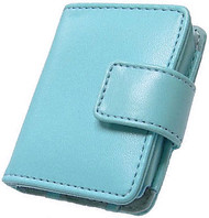 Slim Leather Case and Screen Protector for 3rd Generation iPod Nano (Baby Blue)