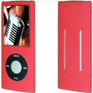 Anti-Slip Silicone Skin for 4th Generation iPod Nano (Red)