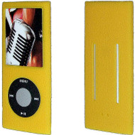 Anti-Slip Silicone Skin for 4th Generation iPod Nano (Yellow)