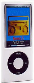 Anti-Slip Silicone Skin for 5th Generation iPod Nano 5G (White)