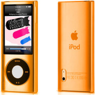 Crystal Shield Case for 5th Generation iPod Nano 5G - Orange