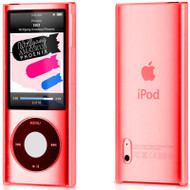 Crystal Shield Case for 5th Generation iPod Nano 5G - Red