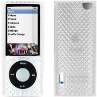 Diamond-Cut Polymer Case for 5th Generation iPod Nano 5G - Clear
