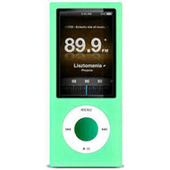 Protective Silicone Skin for 5th Generation iPod Nano 5G - Aqua Green