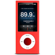 Protective Silicone Skin for 5th Generation iPod Nano 5G - Red