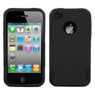 Astronoot Multi-Layer Hybrid Case for iPhone 4 / 4S - Black