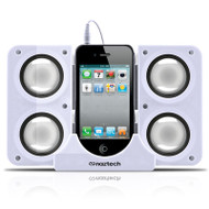 *DAILY DEAL* Naztech N40 Portable Speaker System Dock - White