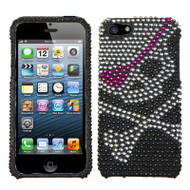 Diamante Rhinestone Case for iPhone SE / 5S / 5 - Skull