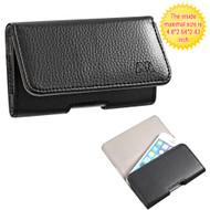 Leather Folio Hip Case for iPhone SE / 5S / 5C / 5 - Napa
