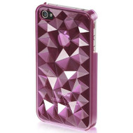 Crystal Rock Case for iPhone 4 / 4S - Purple
