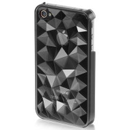 Crystal Rock Case for iPhone 4 / 4S - Smoke
