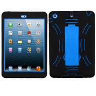 Impact Armor Kickstand Hybrid Case for iPad Mini 1 / 2 / 3 - Black Blue