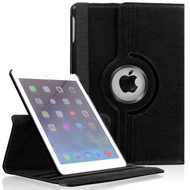 360 Rotating Leather Hybrid Smart Case for iPad Mini - Black