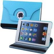 *SALE* 360 Rotating Leather Hybrid Smart Case for iPad Mini - Baby Blue