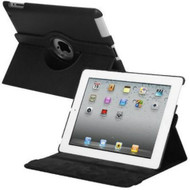 *SALE* Smart Rotary Leather Case for iPad 2, iPad 3 and iPad 4th Generation - Black